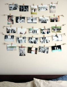 Ideas For Wall Decoration is part of Photo walls bedroom Today we want to show you amazing wall decoration ideas You can find creative designs and inspiration to help you decorate your room wal - Cute Room Decor, Diy Wall Decor, Bedroom Decor, Bedroom Wall Decorations, Photo Wall Decor, Bedroom Ideas, Photowall Ideas, Decoration Photo, Uni Room