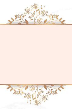 Coming True Quinceanera Invitation Framed Wallpaper, Flower Background Wallpaper, Flower Backgrounds, Iphone Wallpaper, Pretty Phone Backgrounds, Vector Background, Cadre Design, Fond Design, Molduras Vintage