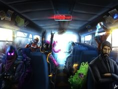 fortnite in the battle bus - Bing images Save The World, Royale Game, Best Gaming Wallpapers, Nintendo, Epic Games Fortnite, Battle Royale, Fan Art, Gaming Memes, Gaming Posters