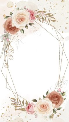Blank Wedding Invitation Templates, Wedding Invitation Background, Invitation Card Design, Floral Invitation, Digital Invitations, Floral Wedding Invitations, Wedding Invitation Cards, Wedding Cards, Frame Floral