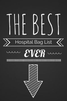 Are you wondering what to pack in your hospital bag when preparing to have a baby? This hospital bag checklist will be the only list you need when packing.