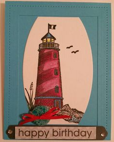 Check out this item in my Etsy shop https://www.etsy.com/listing/218159635/lighthouse-birthday-card