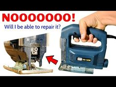 (24) Will I Be Able to Fix My Broken Jigsaw? I Broke the Blade Clamp & Can't Even Afford a Chinesium One! - YouTube