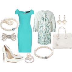State Visit to Finland Day 3: Morning by queenalex on Polyvore featuring moda, Roland Mouret, Giambattista Valli, Jimmy Choo, Yves Saint Laurent, Tiffany & Co. and Inner Circle Jewelry