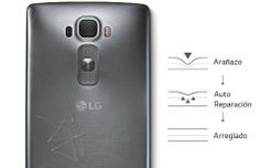 LG G Flex 2, todo curvas