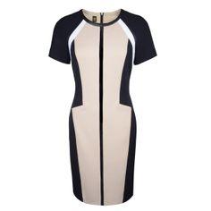 Robe à empiècements graphiques #BASLER Graphic Panel Dress