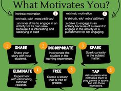 27 Ways To Promote Intrinsic Motivation In The Classroom! Motivation keeps the engagement levels high! Education English, Elementary Education, Professor, Student Centered Learning, Intrinsic Motivation, Teacher Hacks, Teacher Stuff, Quotes For Students, Education Quotes