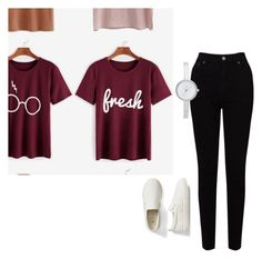 """""""😘"""" by dreydreywild ❤ liked on Polyvore featuring EAST, Gap and DKNY"""