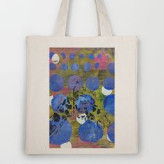 Gel Giraffe Profile Tote Bag by Rachel Winkelman - $18.00