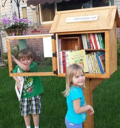 Phyllis Burclaff. Wausau, WI. We first saw a Little Free Library in Madison, WI, several years ago and knew then that we would like one in our yard. Our 4 boys grew up with many books and we feel all children should have books in their house. This is a great way to help that happen. We will have many children's book, chapter books, as well as adult books.