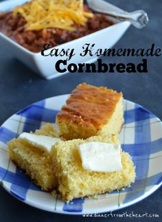 Are you tired of dry, crumbly cornbread? Try this moist delicious cake-like easy homemade cornbread recipe.