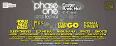Phase One Festival, April 4th - April 5th 2015, Carrick on Shannon, Co Leitrim  http://phaseonefestival.com/