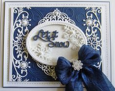 PartiCraft (Participate In Craft): All The Rest Of The Christmas Cards Christmas Cards To Make, Christmas Makes, Xmas Cards, Handmade Christmas, Holiday Cards, Christmas Crafts, Merry Christmas, Tattered Lace Cards, Snowflake Cards