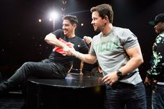 Before he was a movie star, Mark Wahlberg was one of the original New Kids on the Block alongside brother Donnie (who's still a member) — and he briefly returned to the boy band Monday night with a surprise appearance at the group's Madison Square Garden show. It was his first time on stage with the band in 20 years.