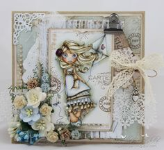 Cards by Camilla: Windy Day ♥