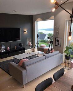 For et skikkelig møkkavær 🙊 I dag skal det ikke bli spesielt fint 🙈👀 . Living Room Tv, Room Decor Bedroom, Apartment Living, Interior Design Living Room, Home And Living, Living Room Designs, Men Apartment, Home Decor, Future