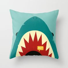 Hello! Throw Pillow by Jay Fleck   Society6. >>> See more at the picture
