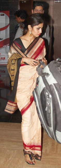 Mohit Raina and Mouni Roy at a Mumbai multiplex. #Bollywood #Fashion #Style #Beauty