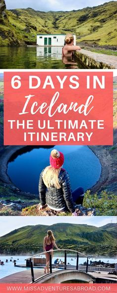 """6 Unforgettable Days in Iceland: The Ultimate Ring Road Itinerary · Plan the ultimate Iceland road trip with this 6-day itinerary filled with the top things to do and see in Iceland! Discover incredible waterfalls, amazing hot springs, unforgettable glaciers, and other natural wonders in the """"Land of Fire and Ice."""" With 6 days, you'll be able to go beyond Reykjavik, the Blue Lagoon, and the Golden Circle and experience all that Iceland has to offer!"""