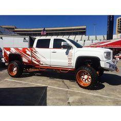 GMC denali truck