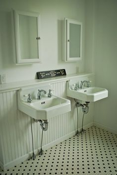 bathroom sinks (our future downstairs sink!!)