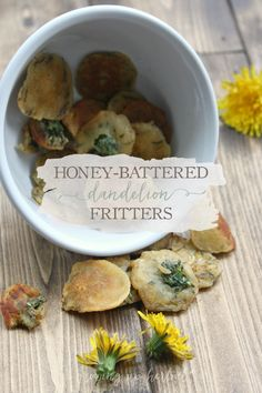 When spring arrives, so do the dandelions. Instead of mowing them down, make them into honey-battered dandelion fritters to enjoy with the whole family!