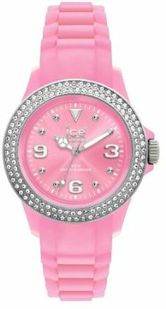 Ice Women's Stone Silicone Pink Watch