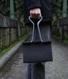Clip bag by Peter Bristol http://www.peterbristol.net/projects/clip-bag/
