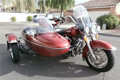 2005 HARLEY-DAVIDSON ROAD KING WITH ULTRA SIDECAR