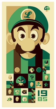 """1985: 2up"" poster by *strongstuff on deviantART 