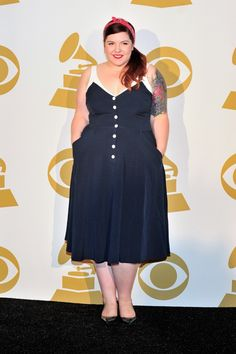 """Mary Lambert backstage at """"The GRAMMY Nominations Concert Live!! — Countdown To Music's Biggest Night"""" on Dec. 6 in Los Angeles"""