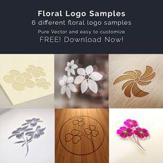 Floral Logo - https://free4all.screnter.com/floral-logos/