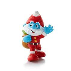 The Smurfs Pappa Smurfs  Christmas Ornament Hallmark 2013