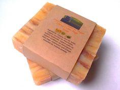 Soap Citrus Cedar Sage All Natural Soap Vegan Soap by ZENfulworld, $5.50