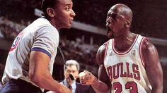 Michael Jordan laying down the law.