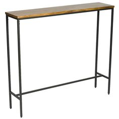 Avlastningsbord Bob 24x84 cm Mangoträ - Småbord - Rusta.com Wardrobe Rack, Bob, New Homes, Desk, Furniture, Home Decor, Decoration, Legs, Decor