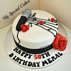 .@myspecialcakes | Music Themed Cake | Webstagram