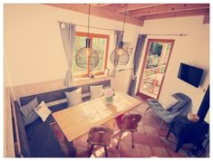 Corner Desk, Furniture, Home Decor, Kaprun, Cottage House, Corner Table, Decoration Home, Room Decor, Home Furnishings