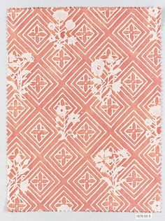 JUPON BOUQUET Manufacturer: Fortuny  (Italian, founded 1906) Medium: Cotton Dimensions: L. 12, W. 9 inches (30.5 x 22.9 cm.) Classification: Textiles-Printed Credit Line: Gift of Countess Elsie Lee Gozzi, President and Owner of Fortuny, Inc., 1976