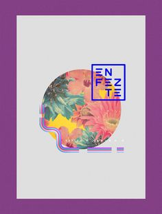 Enfezte by Diego Morales, via Behance