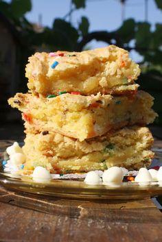 cake batter blondies.