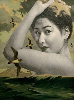 -Julia Lillard- 'sea foam'