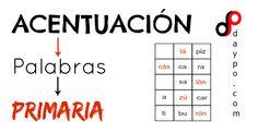 Test acentuación palabra primaria. Language, Words, Languages, Horse, Language Arts