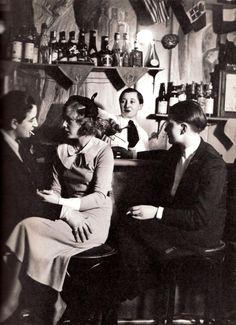 Lesbian Bar, Paris 1930s by George Brassai