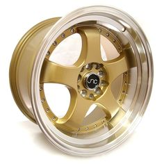 JNC017 Transparent Gold Machined Lip