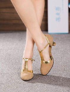AIU Latin-Frauen hohe Absätze der Cuban Heel Wildleder Tanzschuhe (weitere Farben) - http://on-line-kaufen.de/aiu-beautifull-life/aiu-latin-frauen-hohe-absaetze-der-cuban-heel