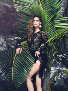 Hungarian model Barbara Palvin is enlisted by Marie Claire Italy for a photoshoot for its May 2014 issue. The model heads to the beach f. High Fashion Photography, Fashion Photography Inspiration, Photoshoot Inspiration, Editorial Photography, Fashion Inspiration, Barbara Palvin, Fashion Shoot, Editorial Fashion, Fashion Models