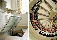 Underground Spiral Wine Cellar Storage System