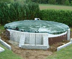 Stahlwand Rundpool: So einfach bauen Sie Ihren Swimmingpool selbst ...