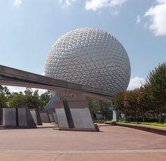 Epcot Center, um dos parques do complexo Disney, em Orlando. Foto: Destino Mundo Afora.